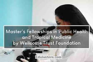 Master's Fellowships in Public Health and Tropical Medicine for International Researchers