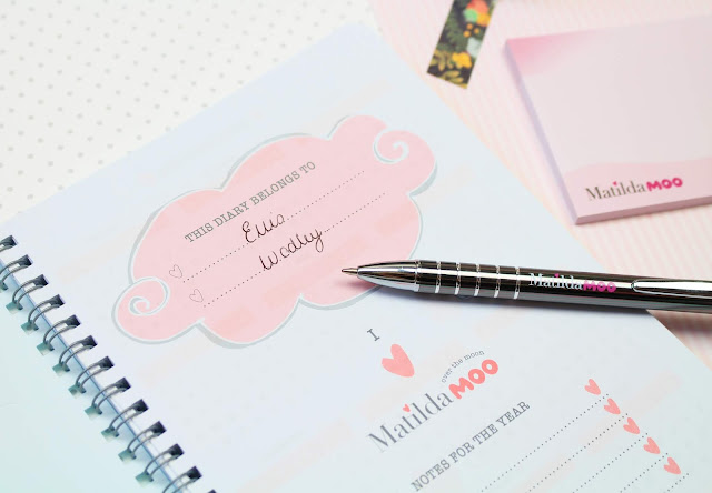 Tangible Stationery, farm animals, stationery, diary, weekly planner, planner, cute planner