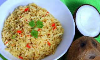 HOW TO MAKE COCONUT RICE 4