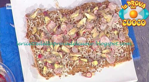 Prova del cuoco - Ingredienti e procedimento della ricetta Super cotoletta di pollo con julienne di carciofi di Andrea Mainardi