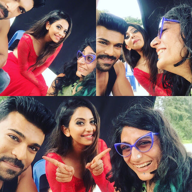 Rakul Preet Singh Dhruva Latest Working Stills
