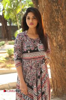 Actress Sunaina Latest Stills in Floral Dress at Pelliki Mundu Prema Katha Trailer Launch  0028.JPG
