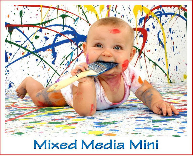 "СП ""Mixed Media Mini"" с Леной LoveCreative"