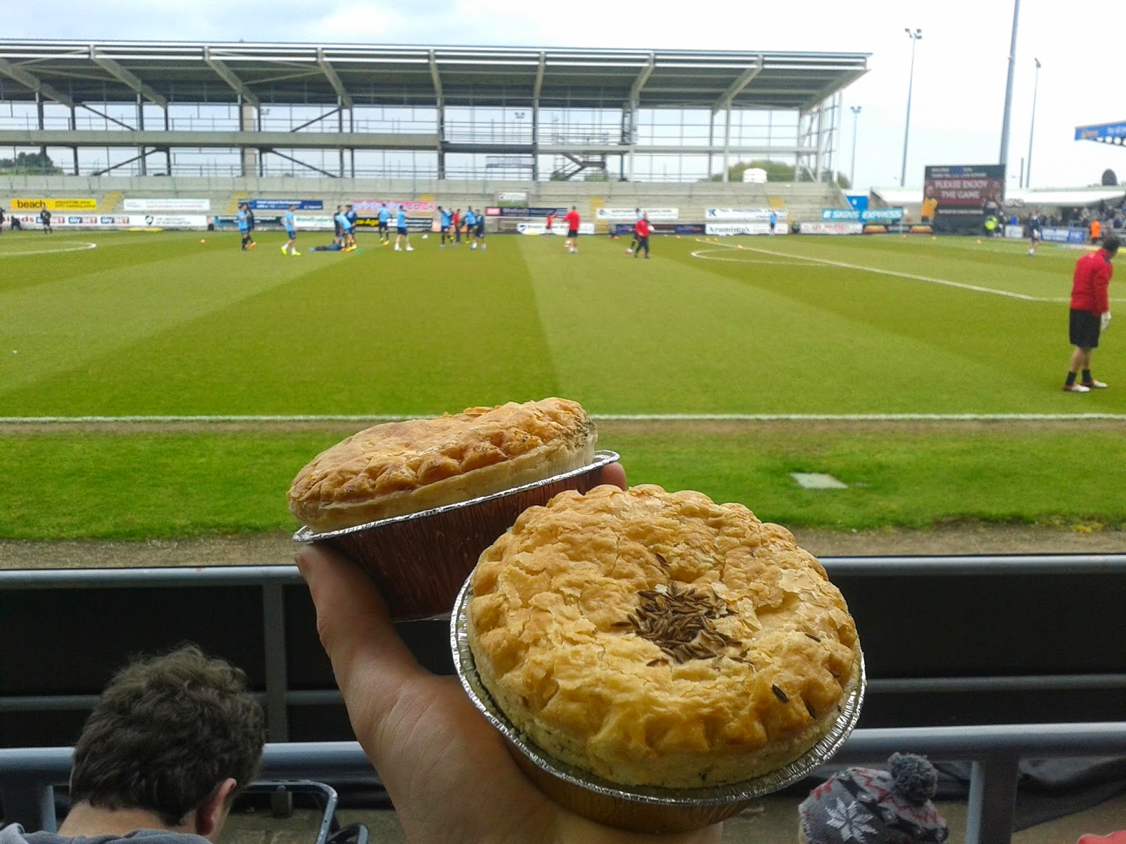 Northampton Town Football Pie
