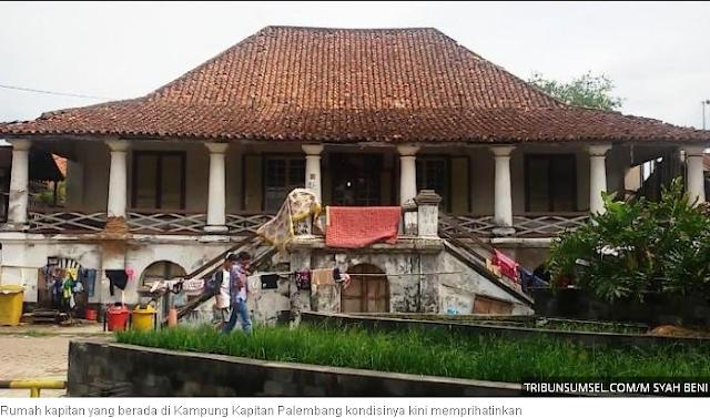 Sejarah Kampung Kapitan, Asal Mula Nama Kota Palembang dan Logan Po Lin Fong