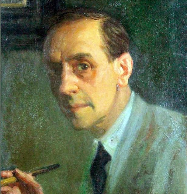 Self Portrait, Portraits of Painters, Fine arts, Rigoberto Soler, Portraits of painters blog, Paintings of Rigoberto Soler, Painter Rigoberto Soler