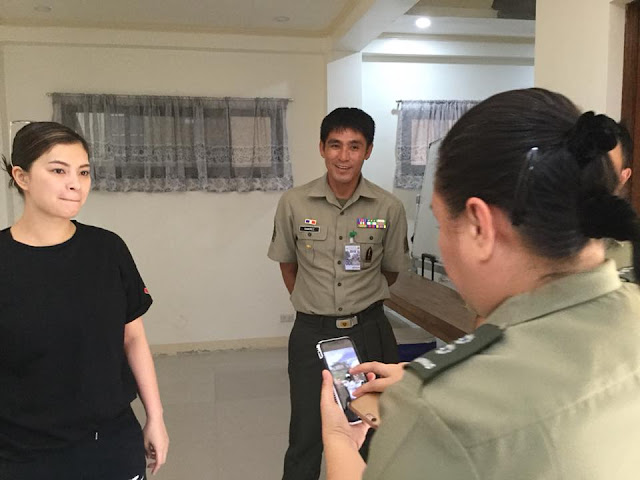 Angel Locsin Renders A Military Call To AFP In Preparation For 'The General's Daughter'