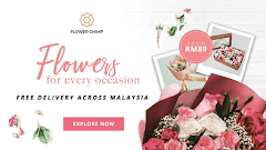 Flower Chimp Tawar Servis Tempahan dan Penghantaran Jambangan Bunga dan Hadiah