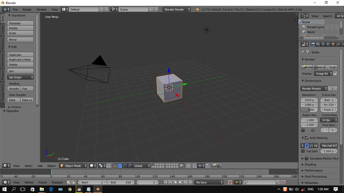 Contoh Membuat Objek 3D Dengan Blender dan Gambar ...