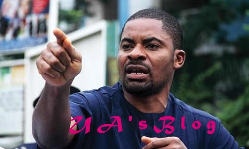 JUST IN; Police Arrest Human Rights Acitivist, Deji Adeyanju Teargas Shiites Protesters in Abuja