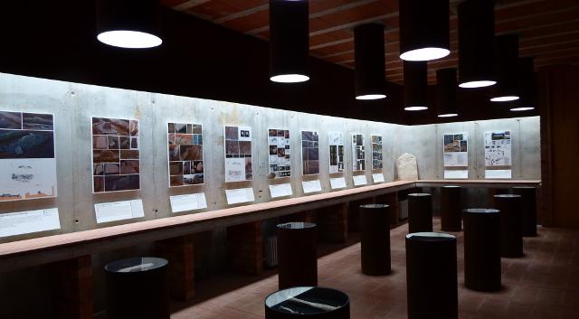Interior del museu