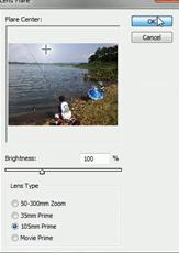 cara-membuat-efek-cahaya-matahari-di-photoshop