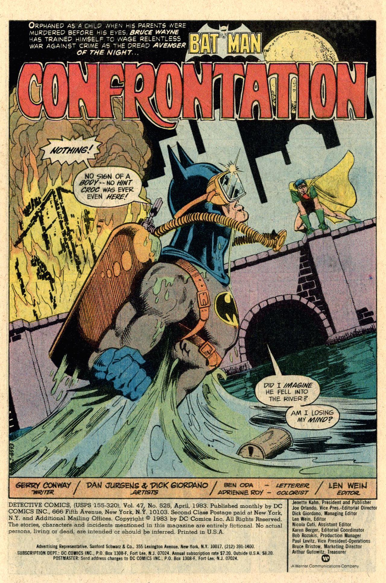 Detective Comics (1937) 525 Page 2