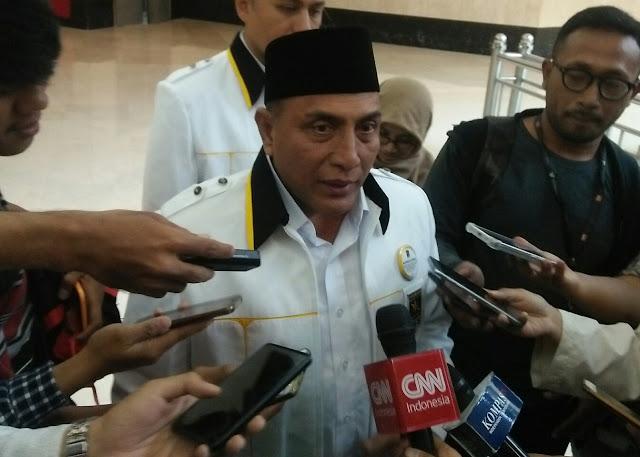 Setelah Golkar, Kini Nasdem Usung Letjen Edy Rahmayadi di Pilgub Sumut