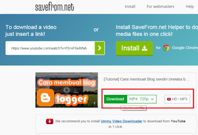 Mendownload Video di Youtube Tanpa Software