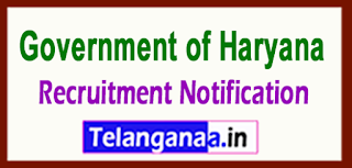 District Health & Family Welfare Society Government of Haryana Recruitment Notification 2017 Last Date 01-06-2017