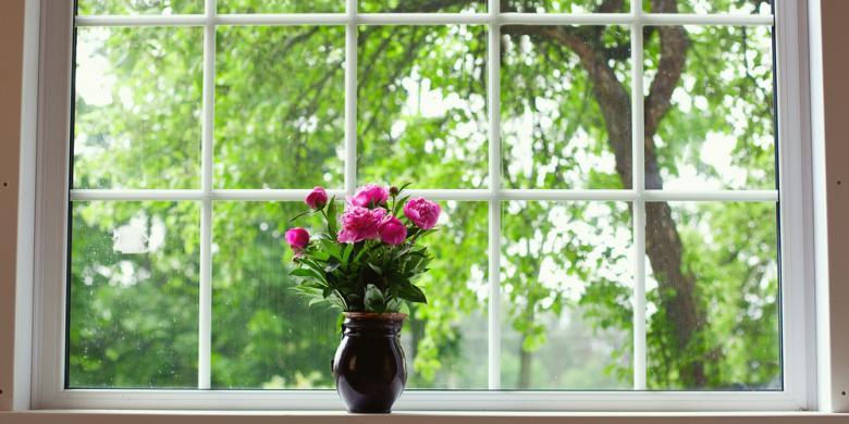 50 Hiasan Bunga di Ruang Tamu Minimalis dan Klasik
