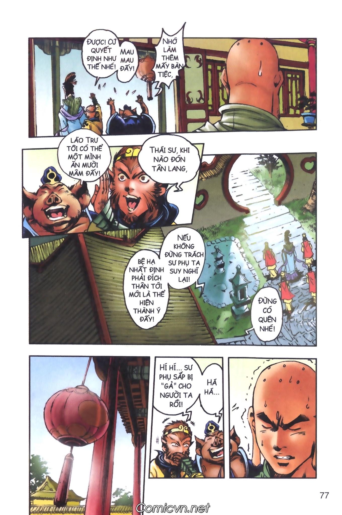 Tây Du Ký màu - Chapter 98 - Pic 8