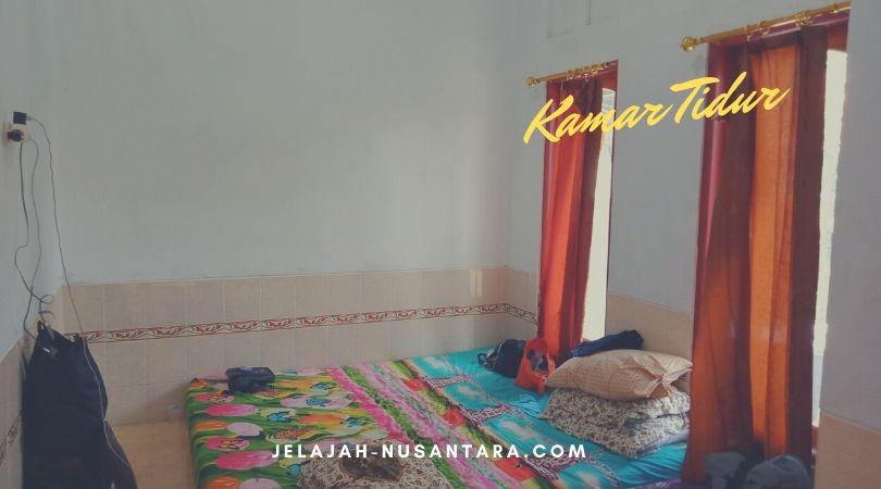 kamar untuk homestay pulau Tidung