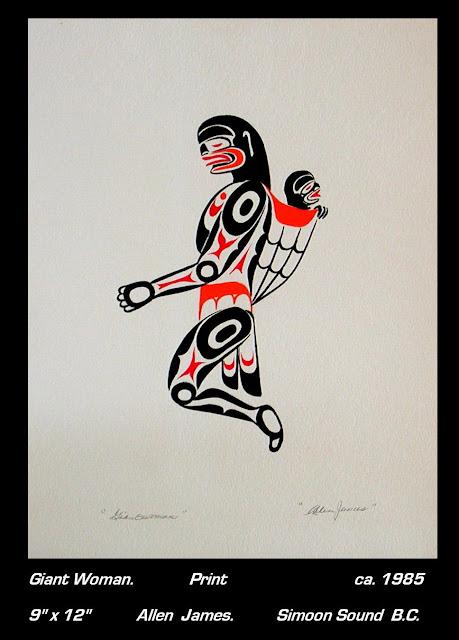 Allen James print Tsonoqua