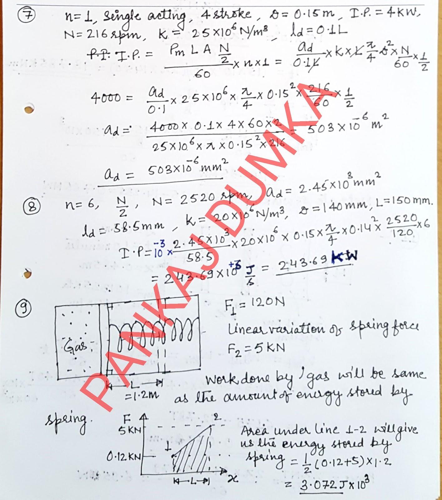 PDF Engineering Thermodynamics by PK Nag Free Download