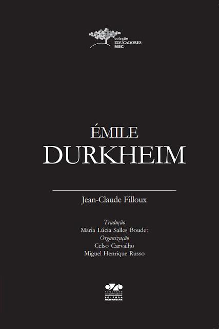 Émile Durkheim - Jean-Claude Filloux