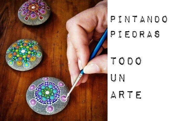 Como Pintar y Decorar Piedras. Tutoriales e Ideas