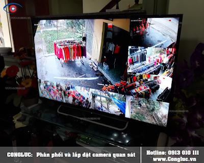 Lắp camera giám sát an ninh Shop thời trang tại Quận Lê Chân