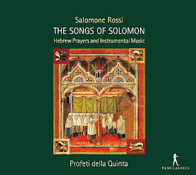 Salomone Rossi - The Songs of Solomon