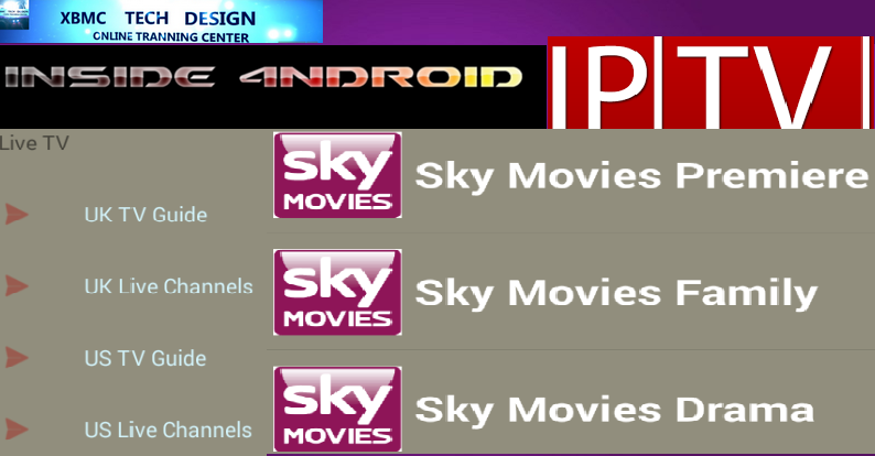 Download Inside 4Android (Pro) IPTV Apk For Android Streaming Live Tv ,Sports,Movie on Android      Quick Inside 4Android (Pro)IPTV Android Apk Watch Premium Cable Live Sports Channel on Android