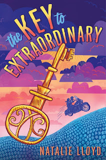 Key to Extraordinary by Natalie Lloyd book cover