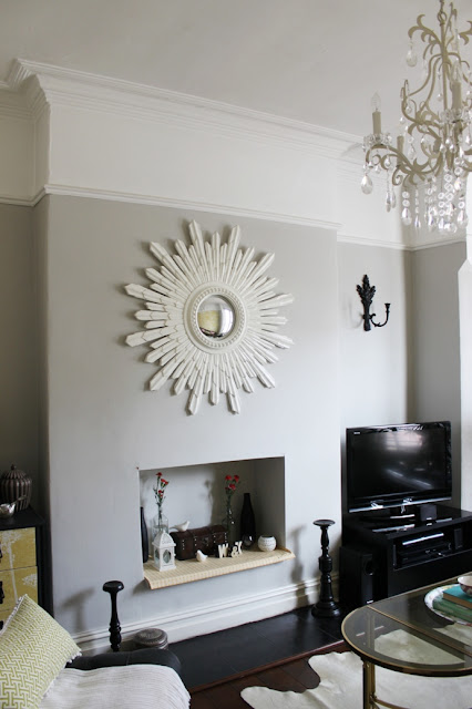 Considering painting above the picture rail in your home? Take a look at how I finally made the decision to go for it!