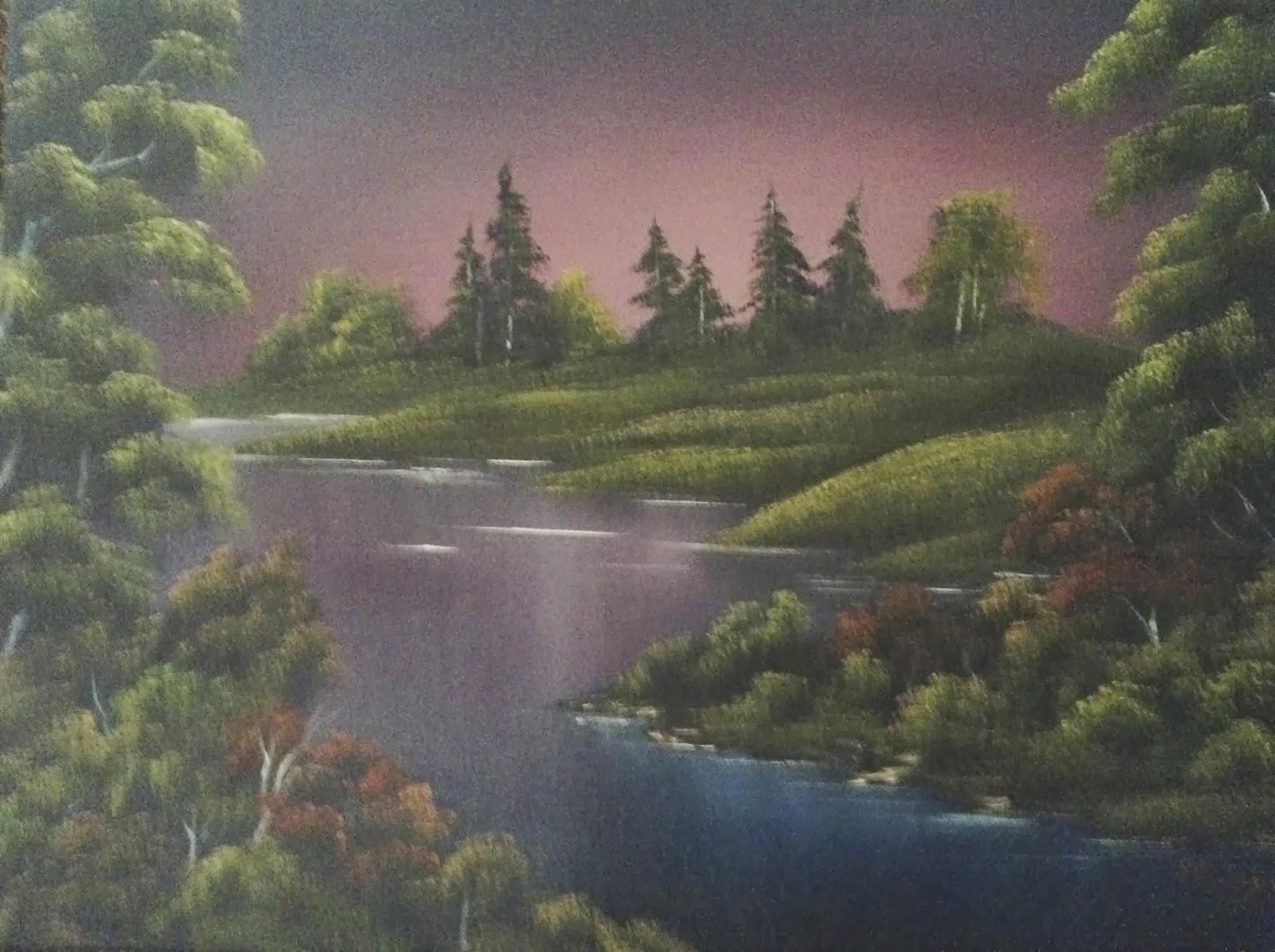 Don Belik Bob Ross 174 Painting Classes 2013 2016 Gallery