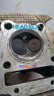 Head klx sedikit ubahan