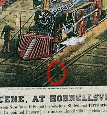 Puzzle, Cahil Okur Puzzle Yapıyor, Trefl, Railway Scene at Hornellsville