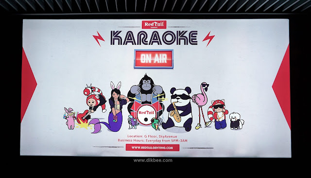Menyanyi Sepuasnya Di Redtail Karaoke Genting Highlands