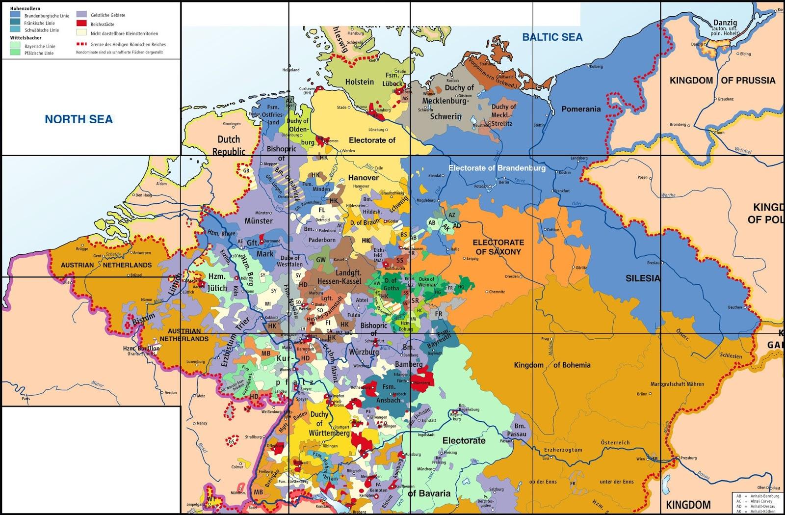 Heiliges Römisches Reich Karte.Bilder Zu Heiliges Römisches Reich Deutscher Nation Karte