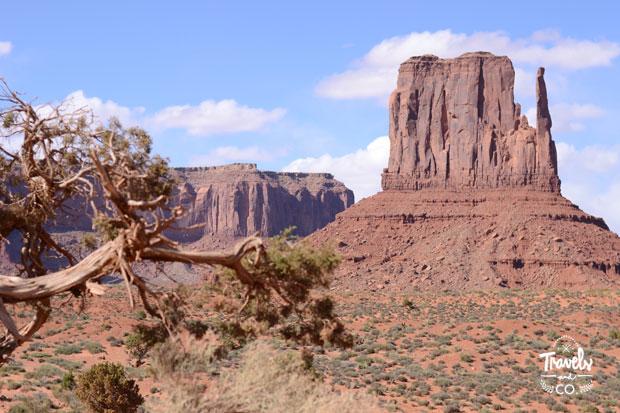 Presupuesto para un ruta en coche por los parques nacionales de Estados Unidos Monument Valley