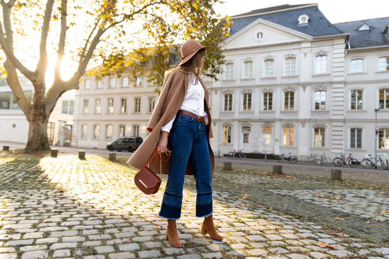 fall parisian chic outfit idea