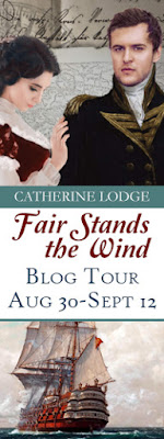 Fair Stands the Wind by Catherine Lodge - Blog Tour