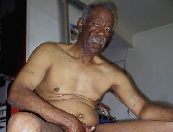 old black grandpa cock