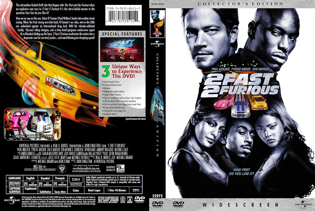 2 Fast 2 Furious DVD Cover