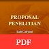 Materi Kuliah Proposal Penelitian