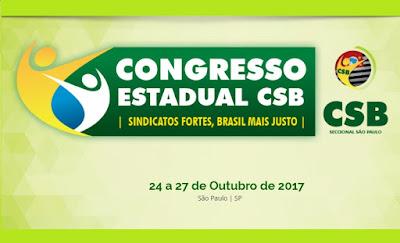 Com Ciro Gomes confirmado, Congresso Estadual da CSB São Paulo já está com as inscrições abertas