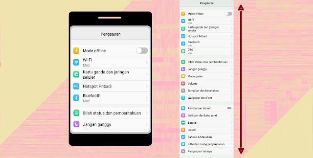 Cara Membuat Screenshot Panjang di Semua Android