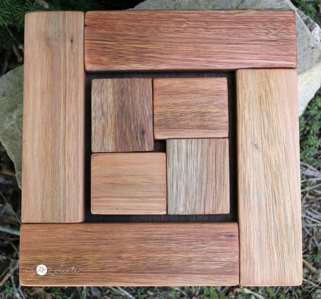 Scrap Wood Trivet, MyLove2Create