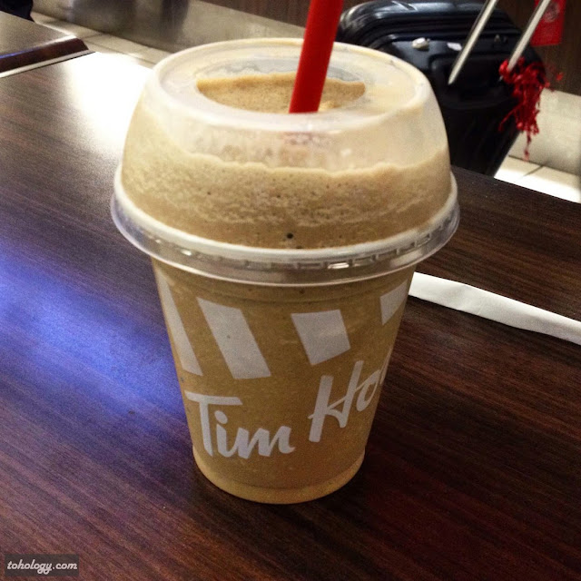 Tim Horton's Iced Capp