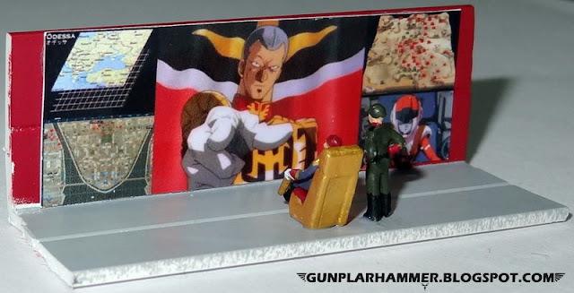 Diorama VHS Salle de communication Gundam 1/144