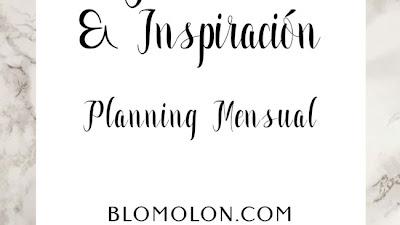 Planning Inspiración & Ideas Mensuales Gratuitos