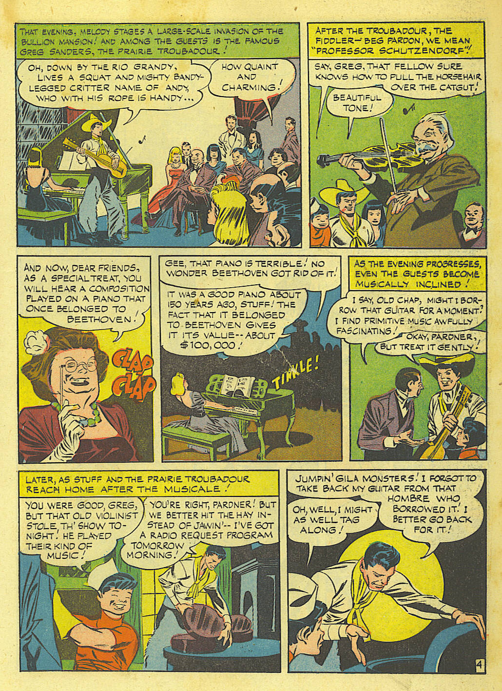 Read online Action Comics (1938) comic -  Issue #67 - 21